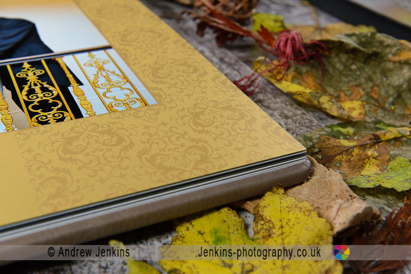 Digital Matted wedding album, jenkins photograph